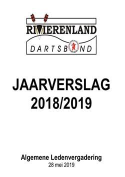 Jaarverslag 2018-2019 voor de ALV staat online