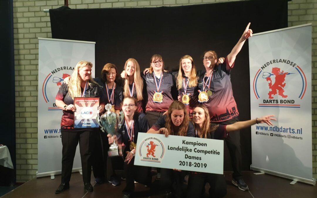 RDB-dames Nederlands kampioen